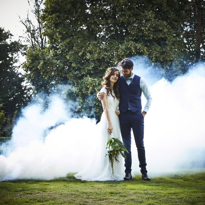 Fumigène Mariage Blanc
