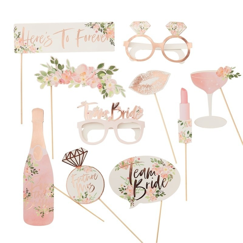 Kit à PhotoBooth EVJF Floral
