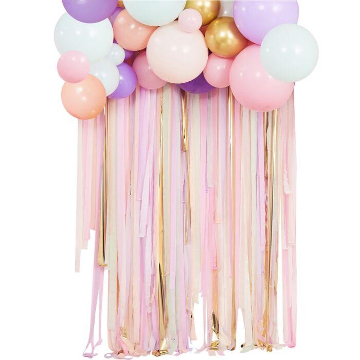 Kit pour Guirlande Ballons et Rideau de Rubans