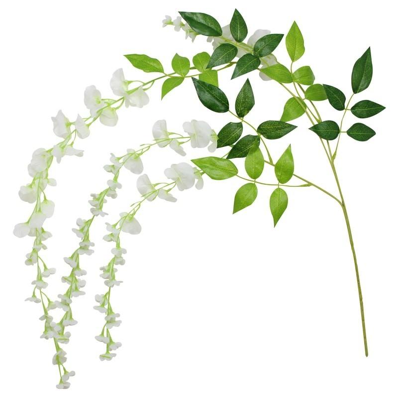 Fleurs Artificielles blanches
