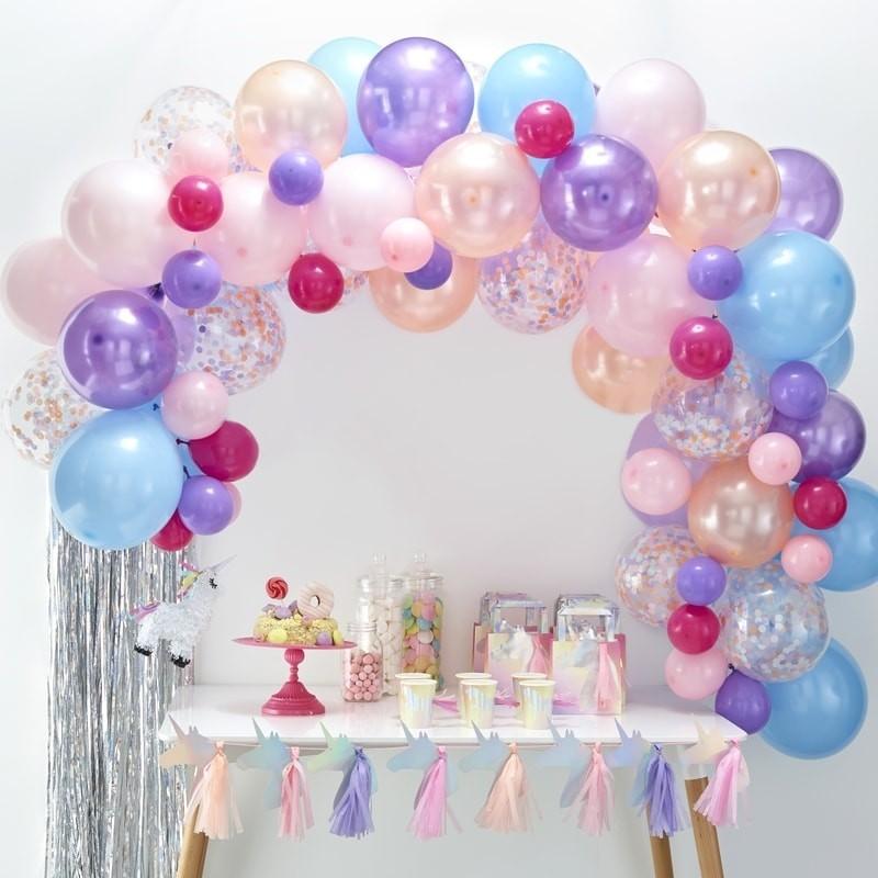 Kit pour Arche 80 ballons couleurs pastels