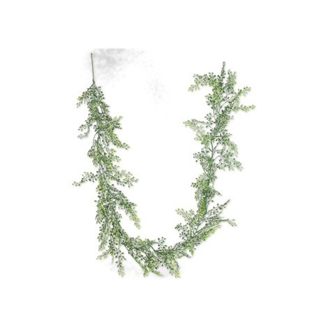Guirlande mini fausses feuilles vertes