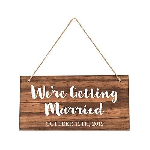 Petit panneau mariage Personnalisable