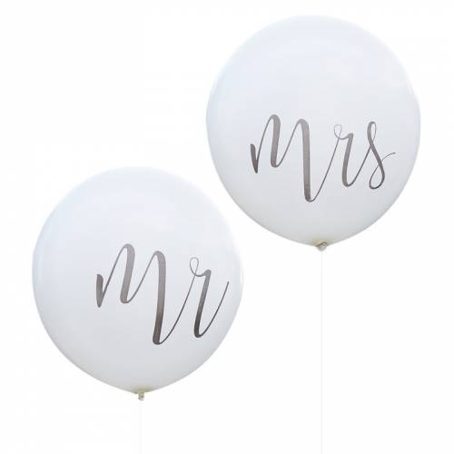 Ballon Géant Mr & Mrs 91 cm