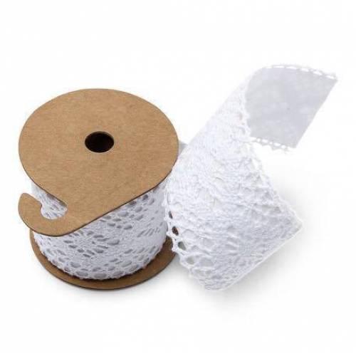 Rouleau de dentelle blanche adhésive 5cm * 2 M
