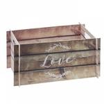 Cagette carton effet rustique
