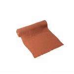 Chemin de table Gaze de coton Vieux Rose 30 cm
