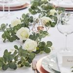 Guirlande Eucalyptus et Roses présentation