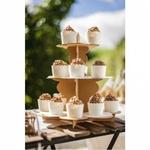 Présentoir à Gâteaux Kraft présentation