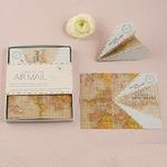 25 marque place avion vintage en origami présentation