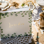 Livre dor mariage Botanique eucalyptus2