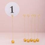 12 Numéro de table ronds mariage