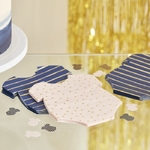 16 serviettes Body mixte Gender Reveal Party