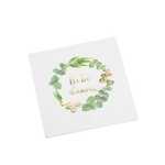 16 serviettes Bébé d'amour