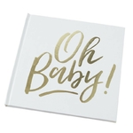 Livre d'or Oh Baby doré