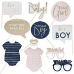Kit à photobooth Mixte Gender Reveal Party2