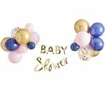 Kit Ballon et Guirlande Baby shower mixte2