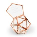 Boite à alliances prénoms hexagonale personnalisée4