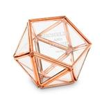 Boite à alliances prénoms hexagonale personnalisée1