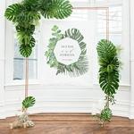 Petit Fond Photobooth Tropical personnalisable2