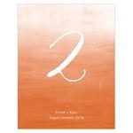 12 numéros de table Tie-Dye personnalisables3