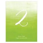 12 numéros de table Tie-Dye personnalisables2
