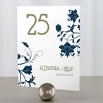 12 numéros de table Esprit Floral Vintage personnalisables2