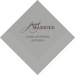 serviette-just-married2
