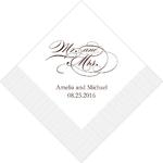 serviette-Mr-Mrs-romantique1