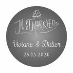 sticker-Justmarried