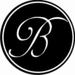 24 Stickers Monogramme Baroque