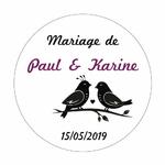 sticker-motif-oiseau-mariage