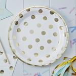 8-assiettes-carton-blanc-pois-doré