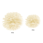 pompon-papier-ivoire