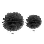 pompon-papier-noir