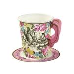 12 petites tasses thème Alice aux pays des merveilles2