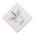 serviette-anniversaire-licorne-dorée