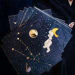 serviette-papier-theme-astronaute