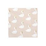 20-serviettes-papier-thème-cygne