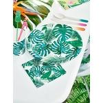 serviette-anniversaire-thème-tropical