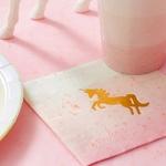 16-serviettes-anniversaire-licorne-pastel