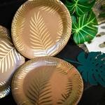 8-assiettes-anniversaire-kraft-palmier