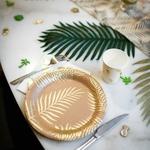 assiette-anniversaire-kraft-palmier