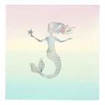 serviette-anniversaire-sirene