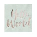 serviette-hello-world