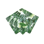 serviette-thème-tropical