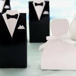 boite-dragée-mariage-tenue-mariés