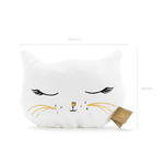 coussin-forme-chat-blanc