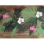 decor-papier-orchidées