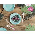 feuilles-decoration-table
